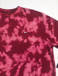 Custom Bleach Dyed 90's Nike Crewneck