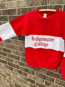 1980's Bridgewater College Crewneck