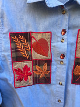 Load image into Gallery viewer, 1990's Fall Patterned Shirt
