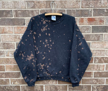 Load image into Gallery viewer, 90's Bleach Dyed Crewneck