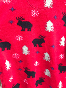 Christmas Fleece Pull Over
