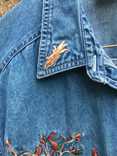 Load image into Gallery viewer, 1990's Fall Themed Denim Shirt