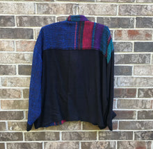 Load image into Gallery viewer, Hand Woven Jesamie Bomber Jacket