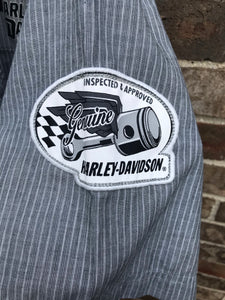Harley Davidson Short Sleeve Button Up