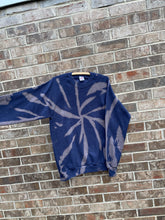 Load image into Gallery viewer, 90's Jerzees Bleach Dyed Crewneck