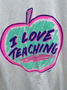 1980's I Love Teaching Graphic Tee