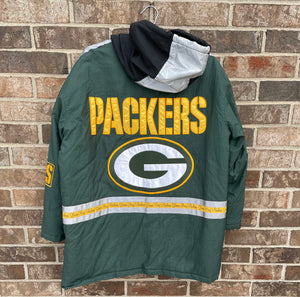 90's Packers Puffer Jacket!