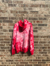 Load image into Gallery viewer, Custom Bleach Dyed Adidas Hoodie