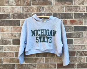 Custom Made MSU Crop Top