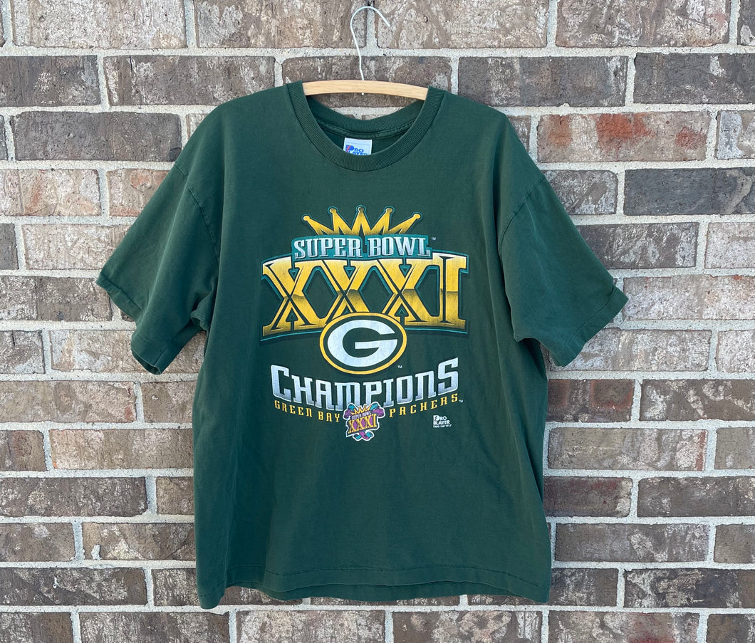 97 Packers Super Bowl Champs T-Shirt