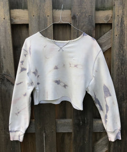 Custom Bleached Nike Crop Top