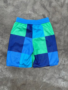 Multicolored Nike Gym Shorts