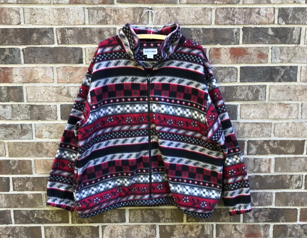 90's Multicolor Fleece