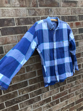 Load image into Gallery viewer, Denim Collared Flannel