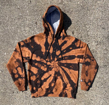 Load image into Gallery viewer, Champion Bleach Dyed Hoodie