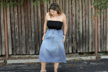 Load image into Gallery viewer, 1970's Cherokee Denim Skirt