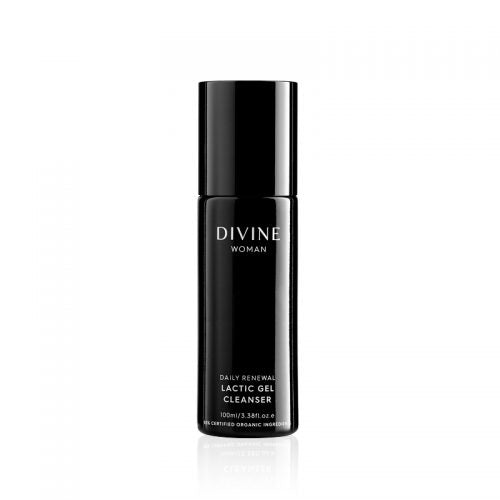 DIVINE WOMAN - DAILY RENEWAL LACTIC GEL CLEANSER 100ml ACO CERTIFIED ORGANIC