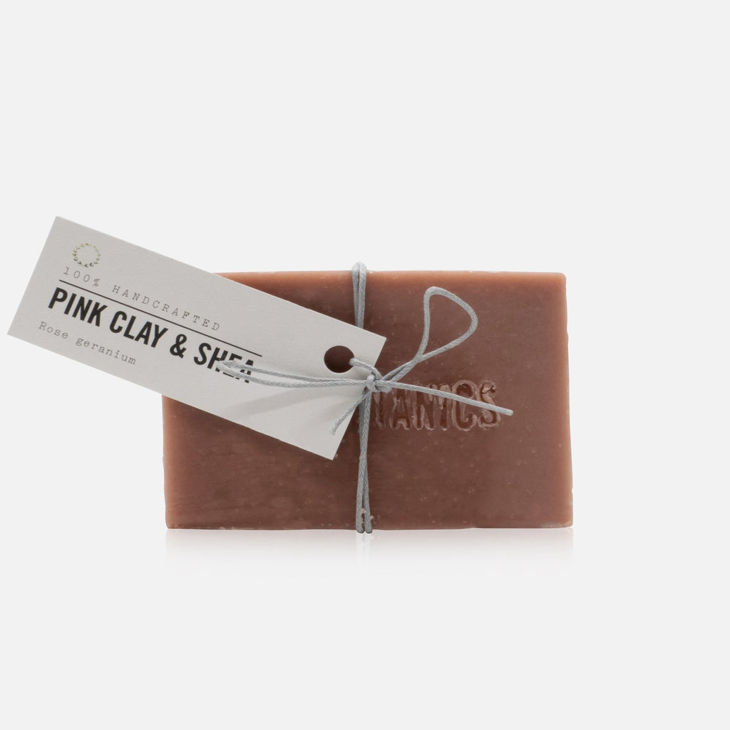 ZEN BOTANICS - FACIAL CLEANSE BAR - PINK CLAY
