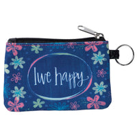 Live Happy ID Wallet Keychain
