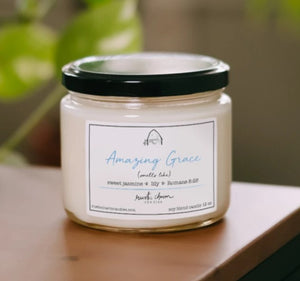 Rustic Charm Candles - Amazing Grace - 12 oz Candle