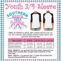 Custom Item - Youth 3/4 Sleeve Shirt