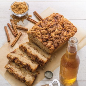 Gluten-Free Cinnamon Crumble Beer Bread Mix
