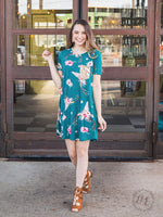 Gypsy Soul T-Shirt Dress with Sequin Pocket