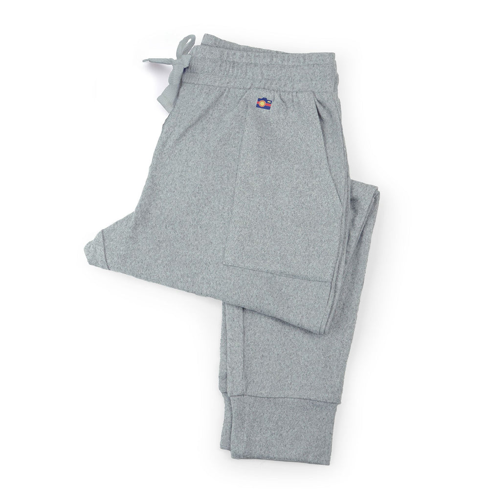 Hello Mello Best Day Ever Knit Joggers - Grey