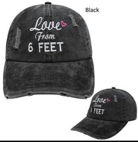 Love From 6 Feet Hat