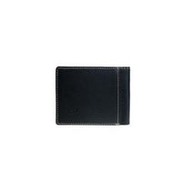 Genuine Leather Lonestar Collection Men's Wallet - Black
