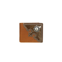 Genuine Hair-On Leather Collection Men's Wallet