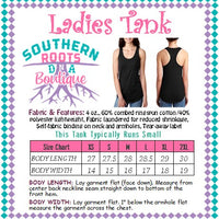 SNOVID Survivor Oklahoma Strong - Ladies Tank - Multiple Tank Colors