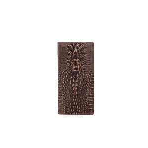 Genuine Leather Gator Collection Men's Wallet