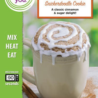 Snickerdoodle Cookie Microwave Cake Single