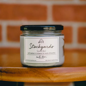 Rustic Charm Candles - Stockyards - 12 oz Candle