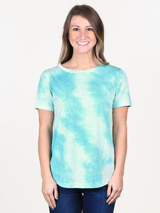 Tammy's Tie Dyed Short Sleeve Top