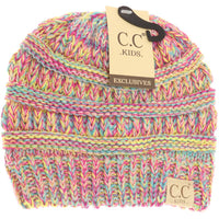 Kids Four-Tone CC Beanies - Multi