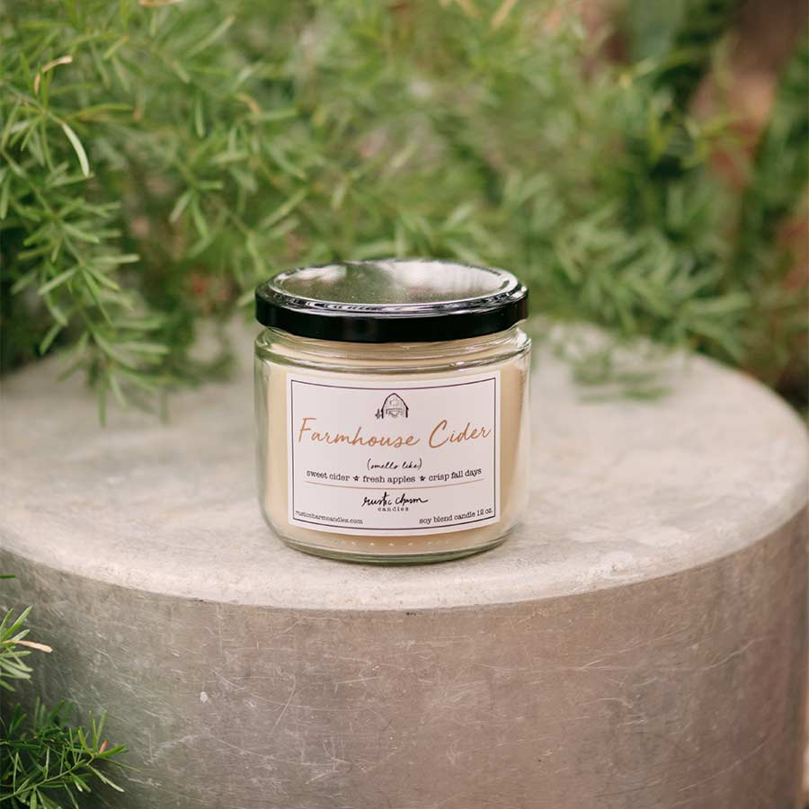 Rustic Charm Candles - Farmhouse Cider - 12 oz Candle