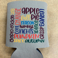 Koozie - Fall Collage