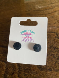 Sparkly Stud Earrings - USS Texas