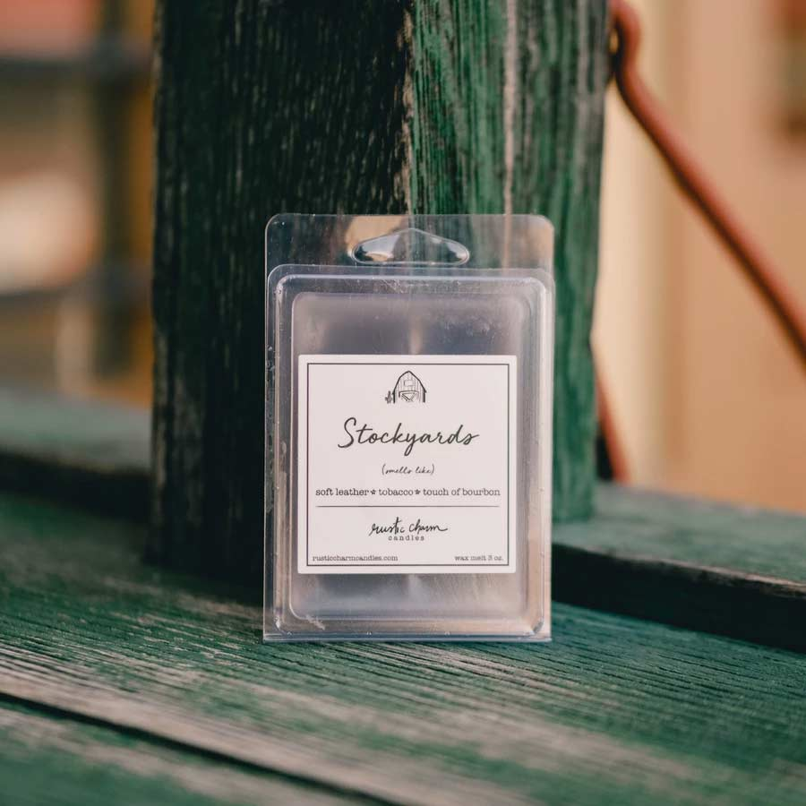 Rustic Charm Candles - Stockyards - Wax Melt