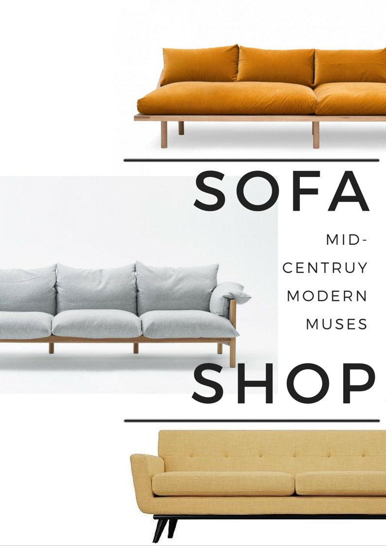 Sofa Shop: The Mid-Century Modern Muses
