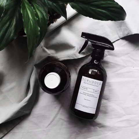 SCRUBBED | Introducing a Natural Cleaning Product