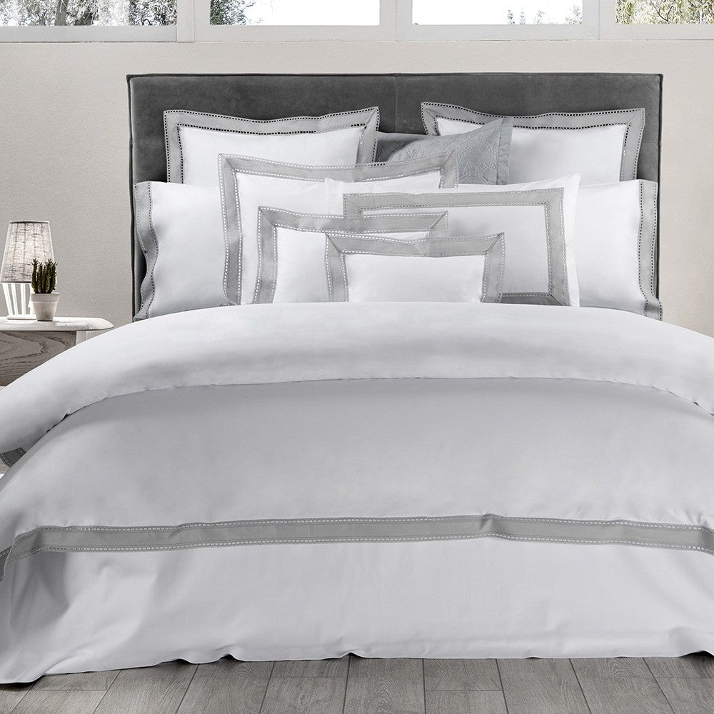 Binario Lace Duvet Cover | Made in Italy
