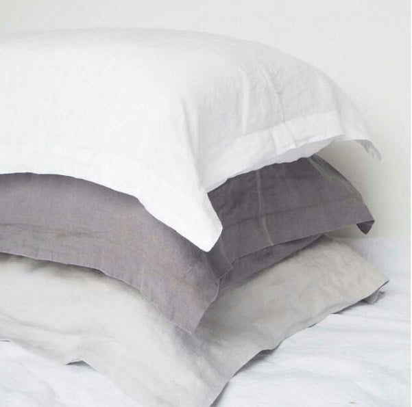 King size pillowcases, Lodge size linen pillowcases online NZ
