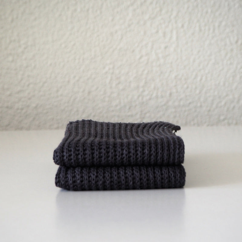 Household Cloth | Graphite (Pair)