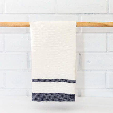 Linen Pillowcases | Blue Stripes | Made in Europe