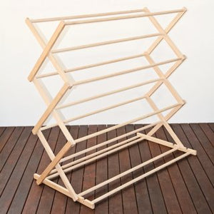 Jumbo Wooden Clothes Airer