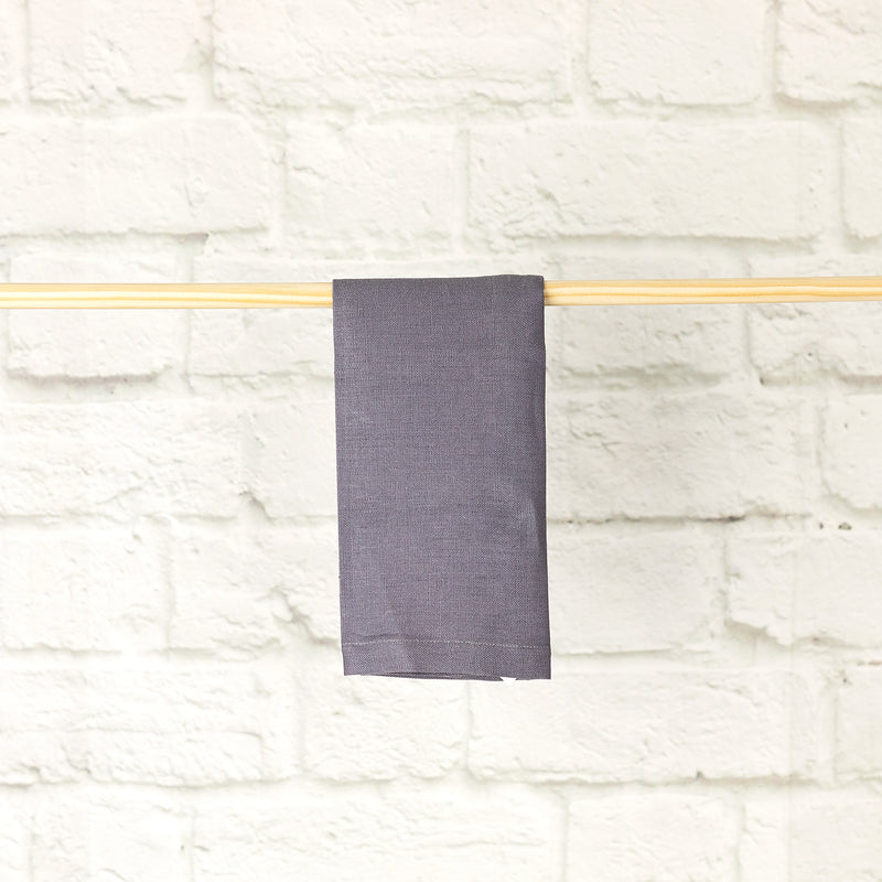 Pure Linen Napkin | Dark Grey