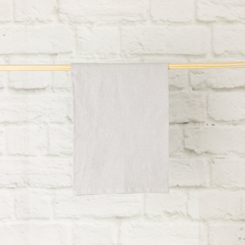 Linen Tea Towel | Light Grey